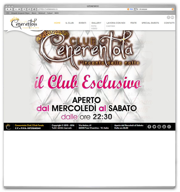 www.cenerentolaclub.it